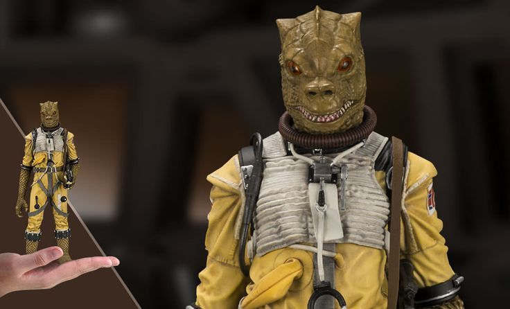 The Bossk Statue Is Now Available At Sideshow Com For Fans