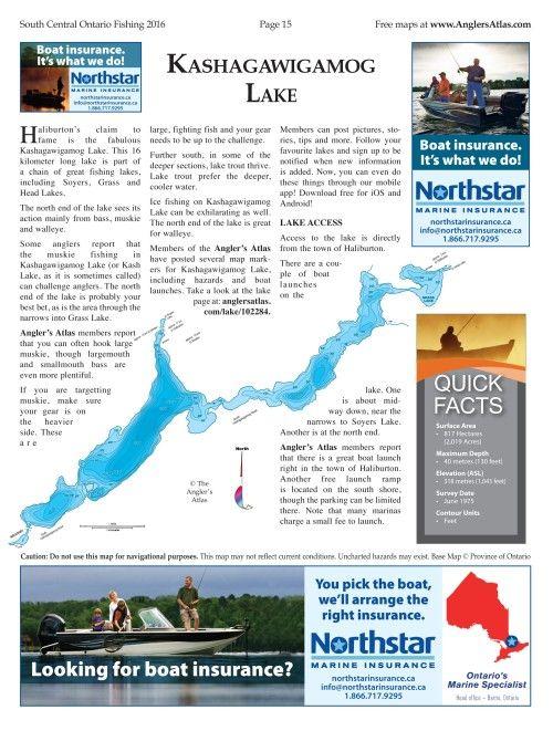Angler S Atlas Fishing Maps Angler Boat Insurance