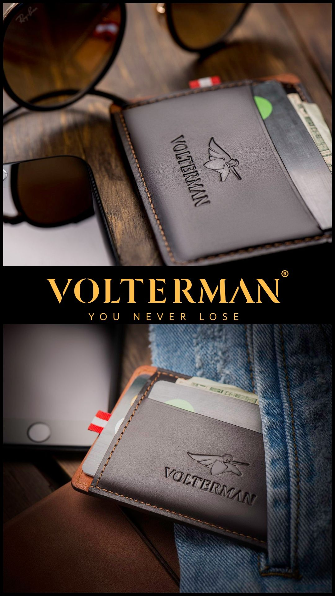 codice promozionale 020eb c5c5c Volterman-The next level of luxurious and smart wallets ...