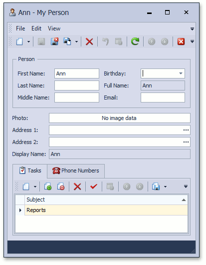 How to: Access the Master Object from a Nested List View
