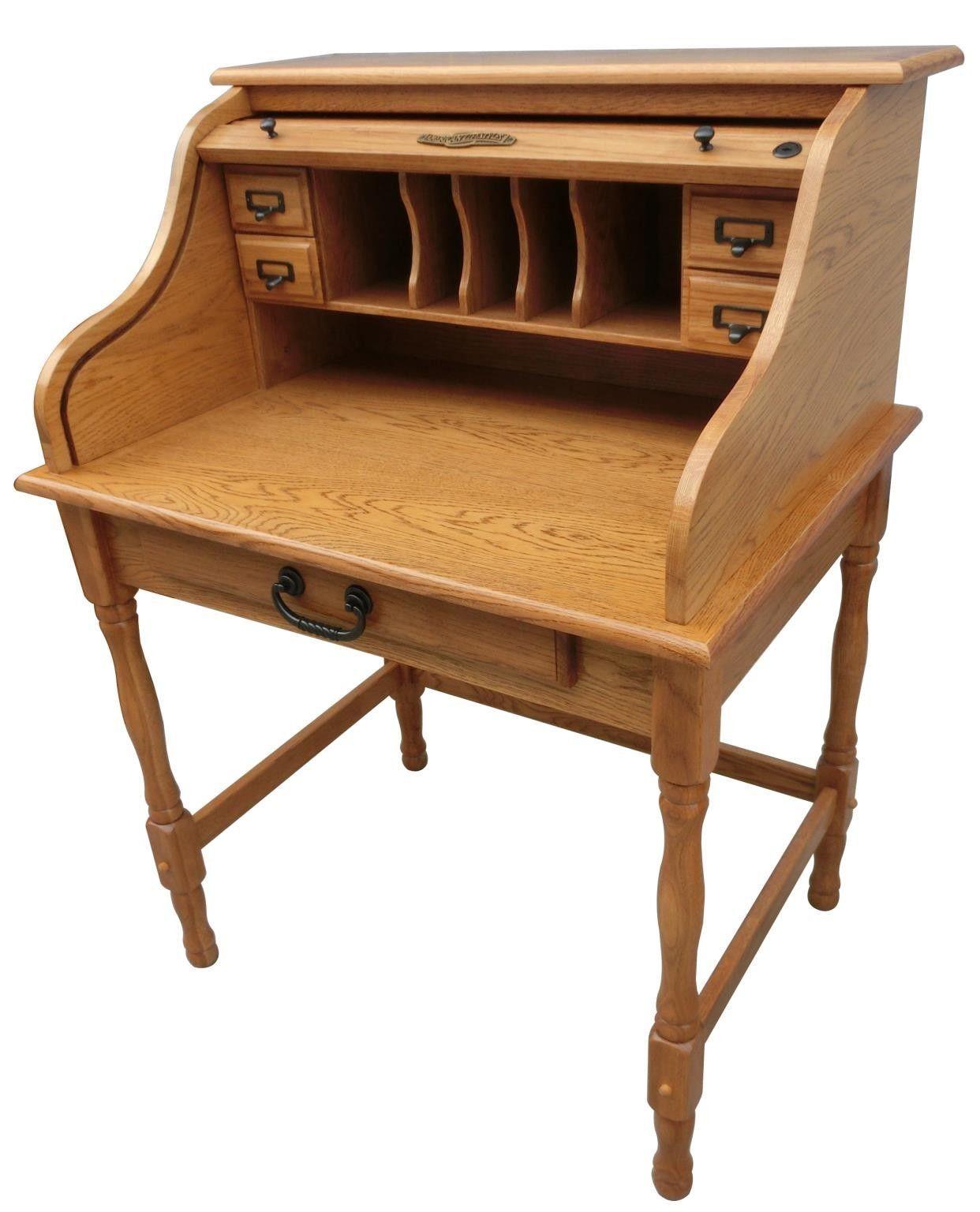 Lonie Roll Top Secretary Desk In 2020 Chelsea Home Furniture Secretary Desks Roll Top Desk
