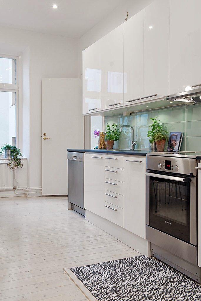 HOME: mieszkanie w skandynawskim stylu | PODŁOGA | Pinterest