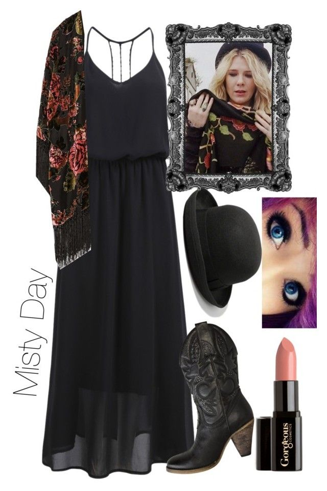 """Hi witch. (Misty Day/American Horror Story/Coven)"" by axelyamary ❤ liked on Polyvore featuring Volatile, Zara, Abercrombie & Fitch and Gorgeous Cosmetics"