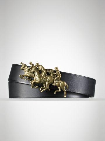 Polo Match Brass Buckle Belt - Ralph Lauren Belts - RalphLauren.com ... cf561764816