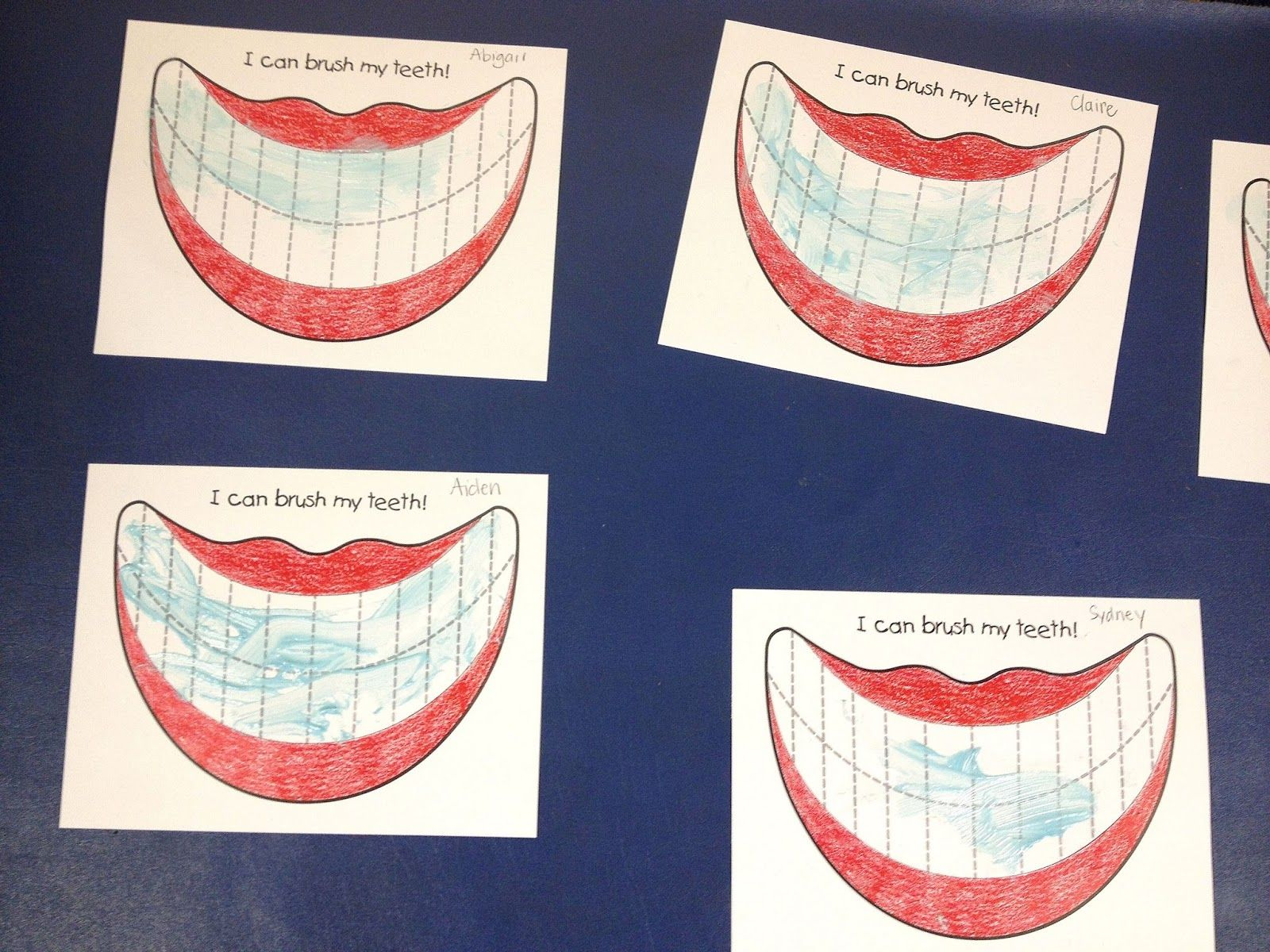 Preschool Dental Health Crafts