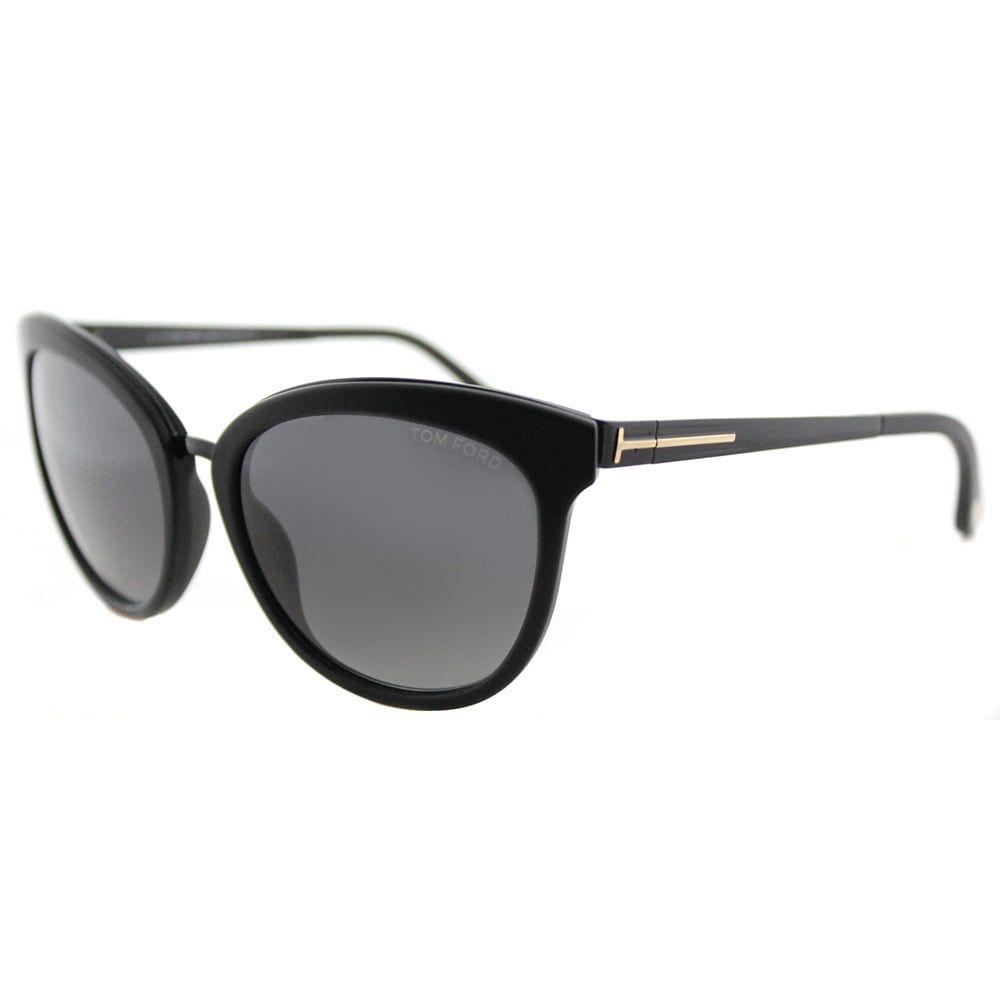 Tom Ford Emma Cat-Eye Frame Grey Polarized Lens Sunglasses, Women\'s ...