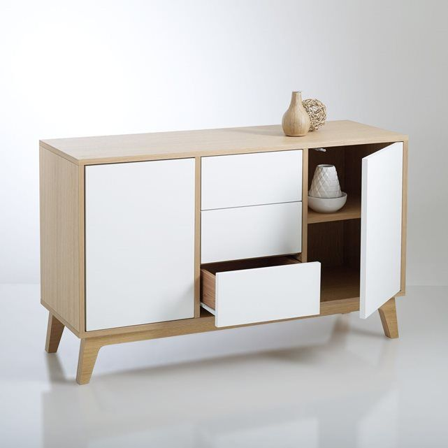 Buffet d\'inspiration scandinave, Jimi | Buffet, Credenza and Armoires