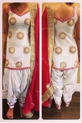 45f62e6785 White Patiala Punjabi designer Party wear suit | Indian Ideas ...
