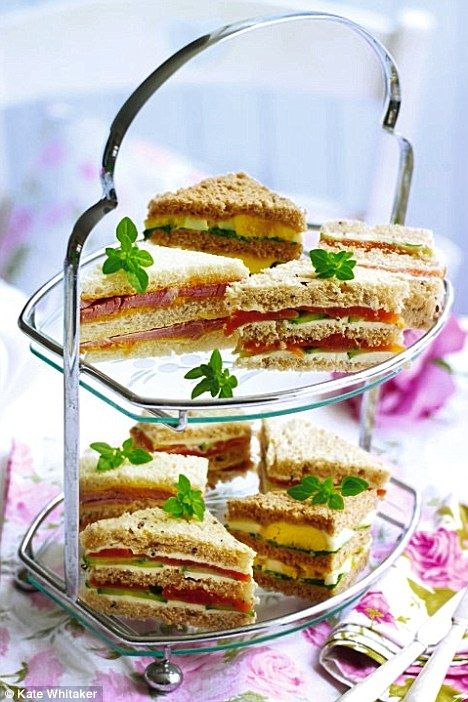 The Basics to Making Tea Party Sandwiches by Anyone for tea?