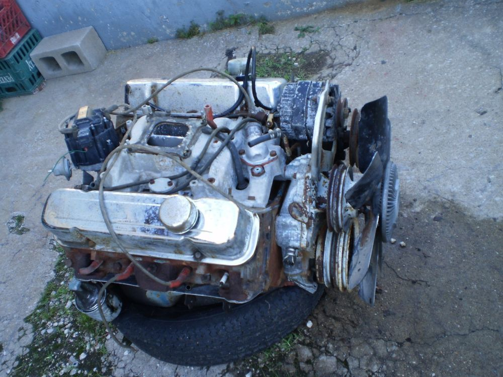 1972 PONTIAC 455 ENGINE MOTOR GTO GP LEMANS TEMPEST CATALINA