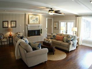 Southern Living Room   Athens, Ga   Southern Charm   Family ...
