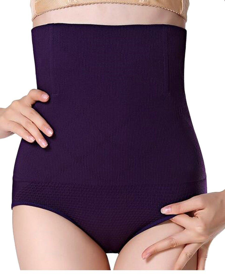 99ea53aa7 Yayun Yayu Womens High Waist Butt Lift Shapewear Tummy Control Panties  Purple XLarge   For more information