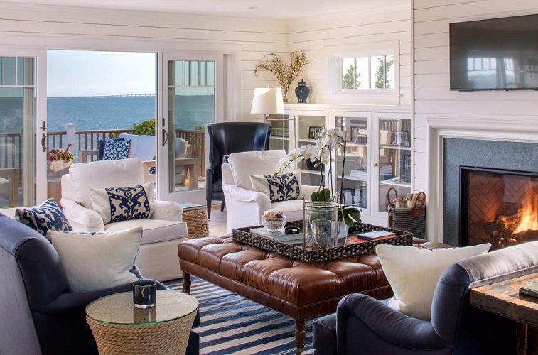 101 Beach Themed Living Room Ideas Beachfront Decor In 2020 Beach Theme Living Room Family Room Design Coastal Living Rooms