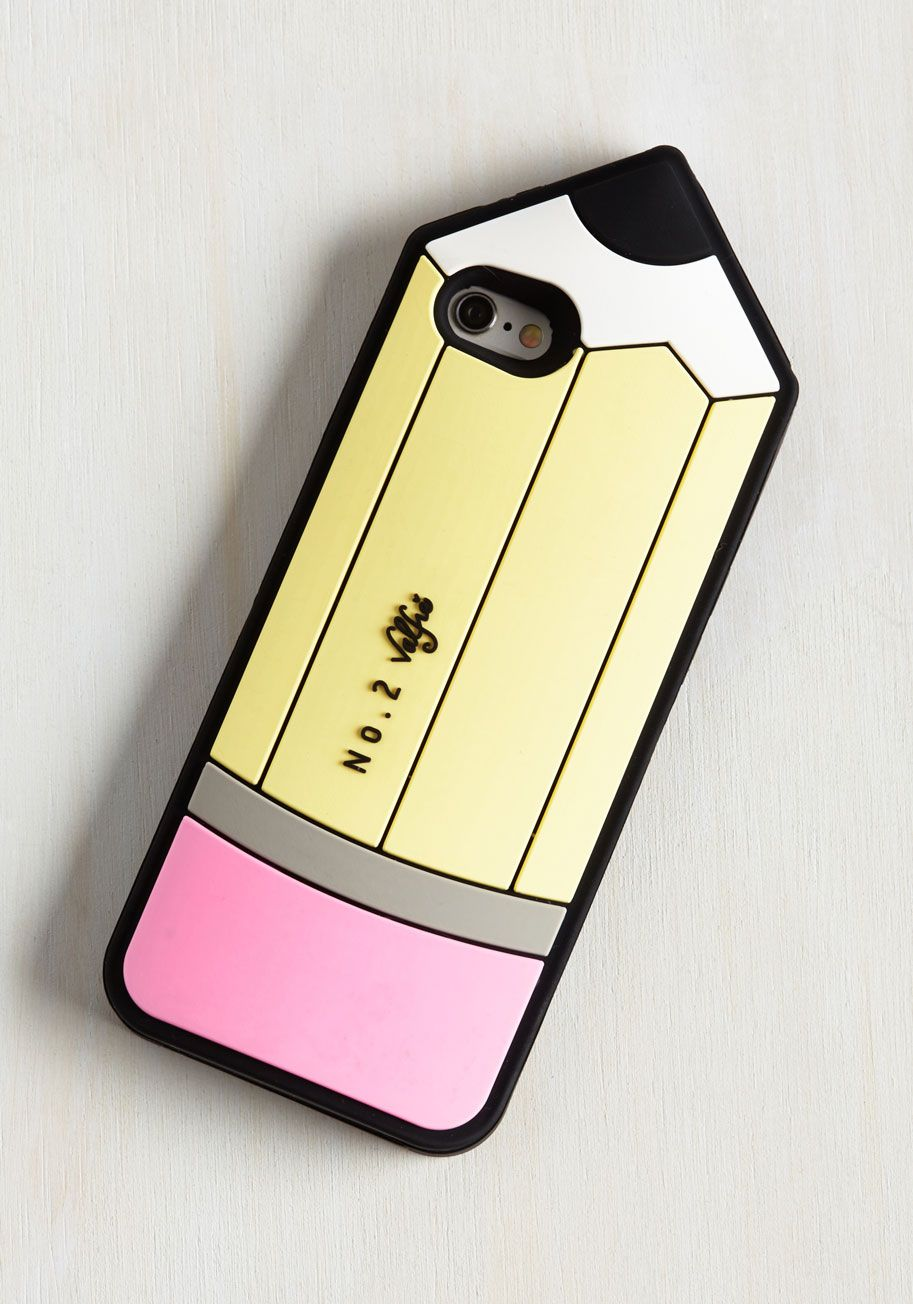 Collect Your Jots iPhone 6/6s Case. Does your phone hold some of your most important thoughts and conversations? #yellow #modcloth