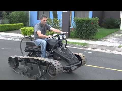 how to build a tracked go kart