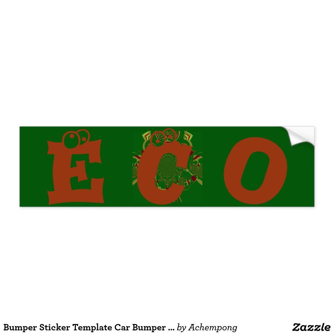 Bumper sticker template car bumper sticker amazing stuff bumper sticker template car bumper sticker maxwellsz