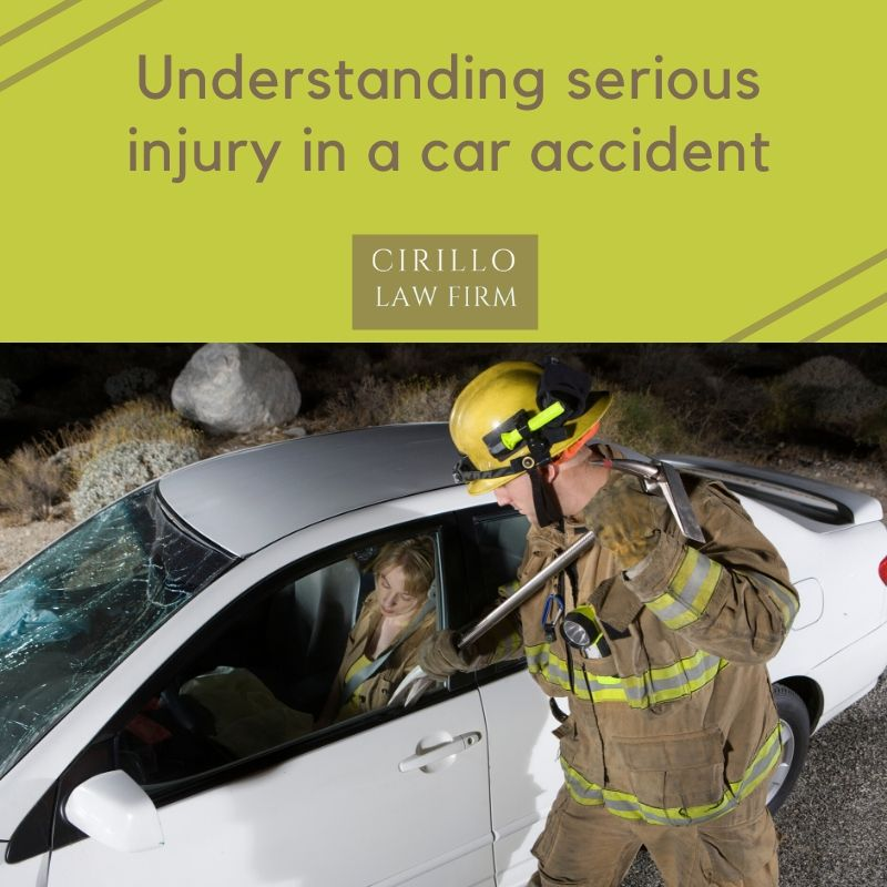 Car accidents could cause serious injuries to the entire