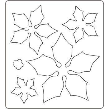 Disegno Stella Di Natale Da Colorare.Fustella Cut Mi Stella Di Natale Natale Manualita Malvorlagen