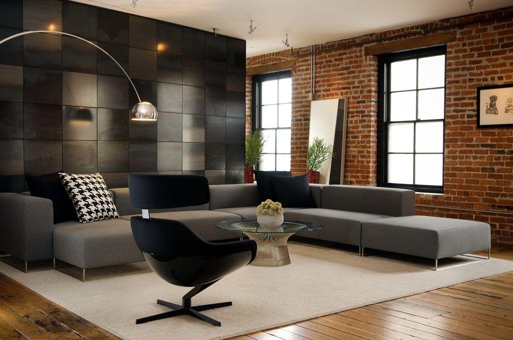 Elegant Modern Home Design Is All Sleek Lines, Pops Of Color, And Funky Furniture.