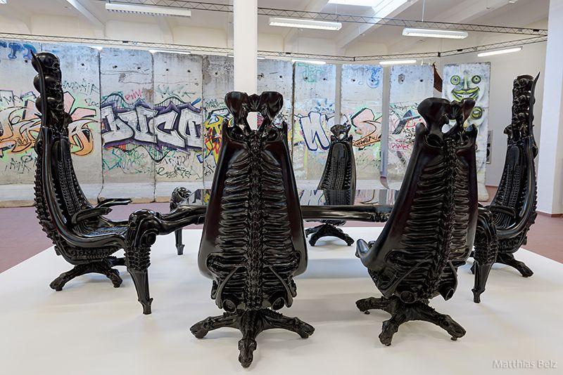 HR Giger Chairs HR GEIGER In 2019 Arte