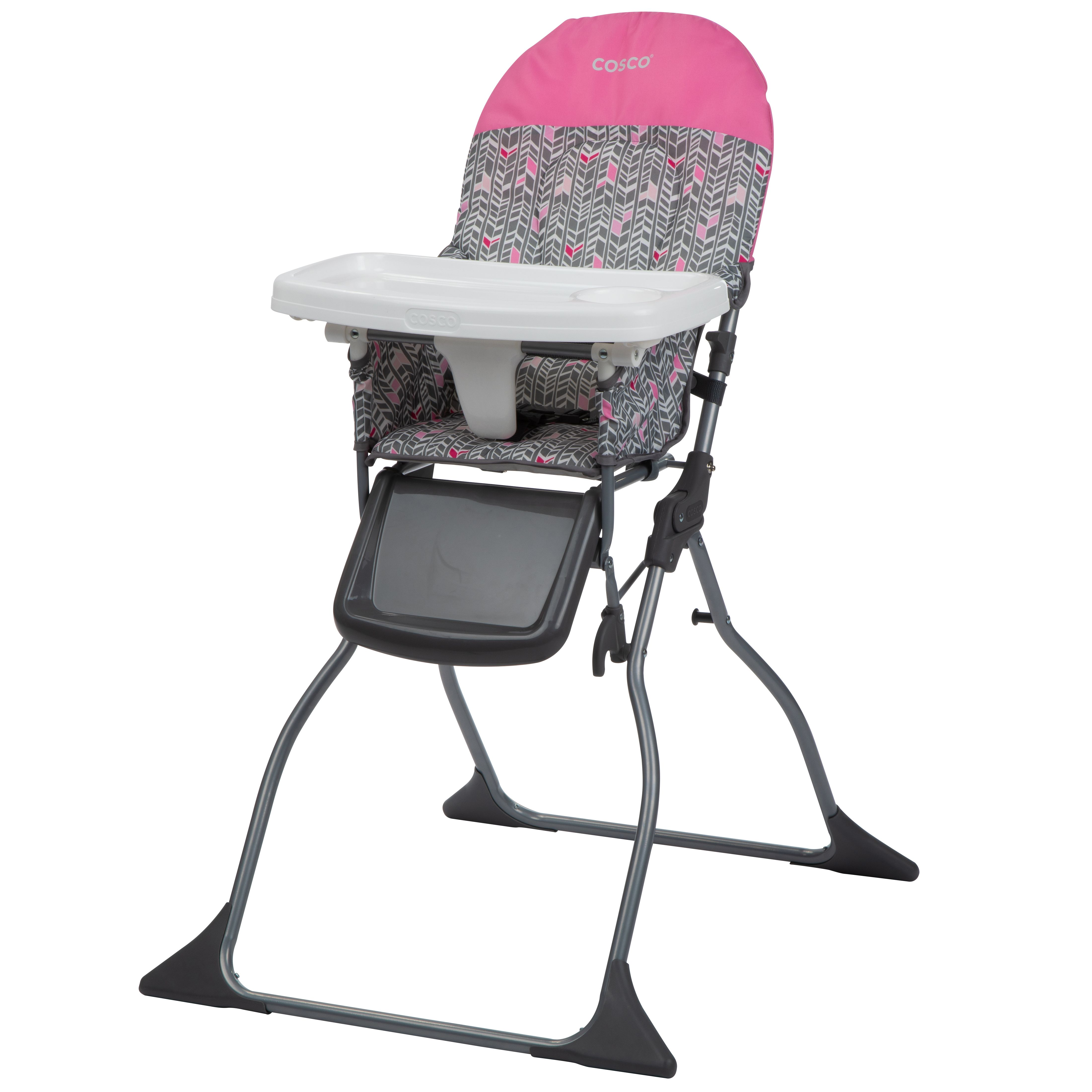 Simple Fold Full Size High Chair With Adjustable Tray Walmart Com In 2020 High Chair Folding High Chair Cosco