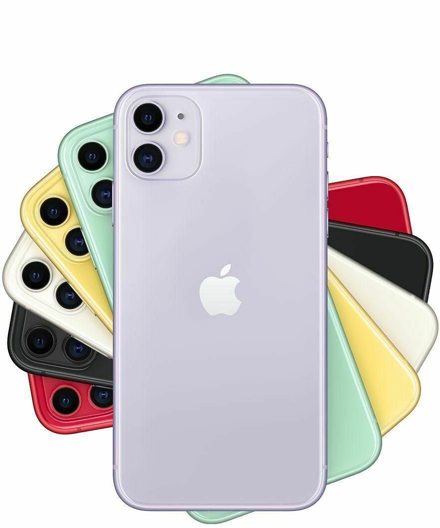 Apple Iphone 11 64 128 256gb White Black Red Green Verizon