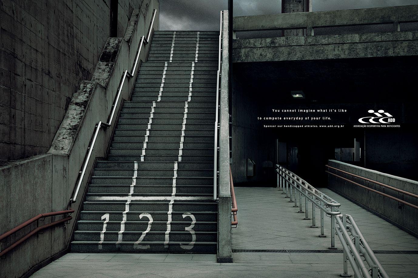 Escaleras Panneau Publicitaire Publicite Street Marketing