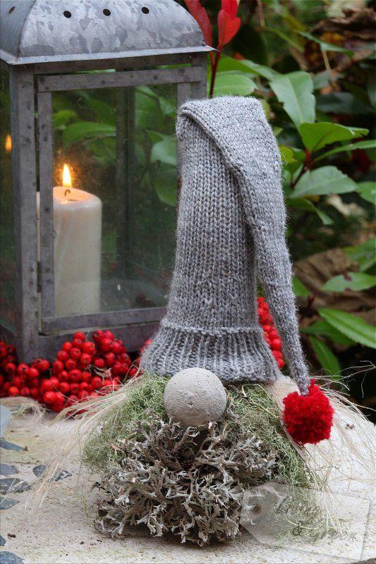 wichtel aus beton diy weihnachtsdekoration wichtel aus beton diy weihnachten pinterest. Black Bedroom Furniture Sets. Home Design Ideas