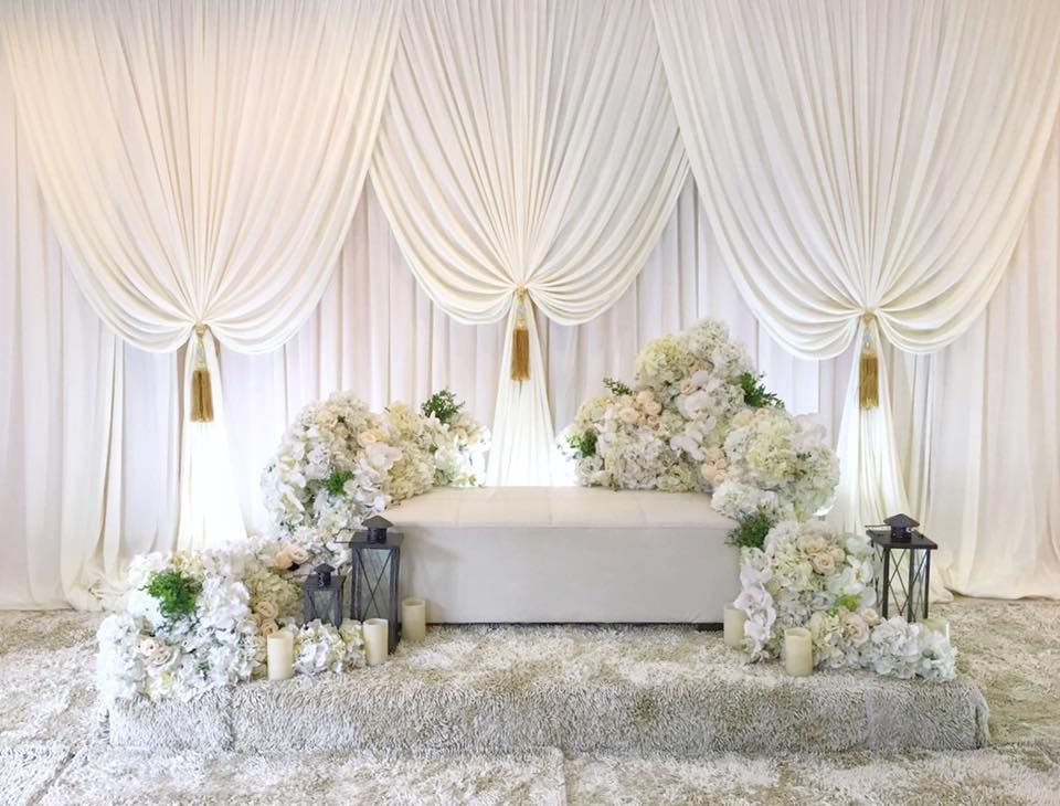 Paris Wedding Stage Backdrop Decorations Simple Weddings Gray Ceremonies Receptions Dreams