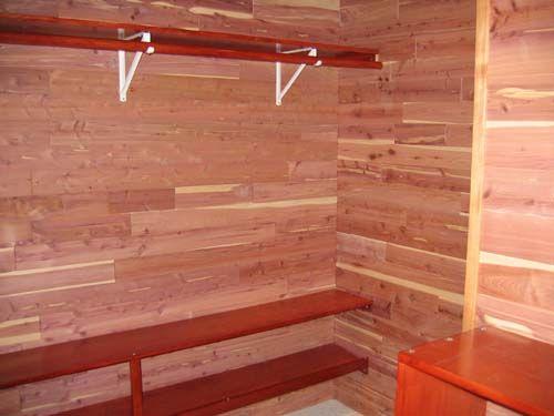 Cedar Lined Closet Benefits