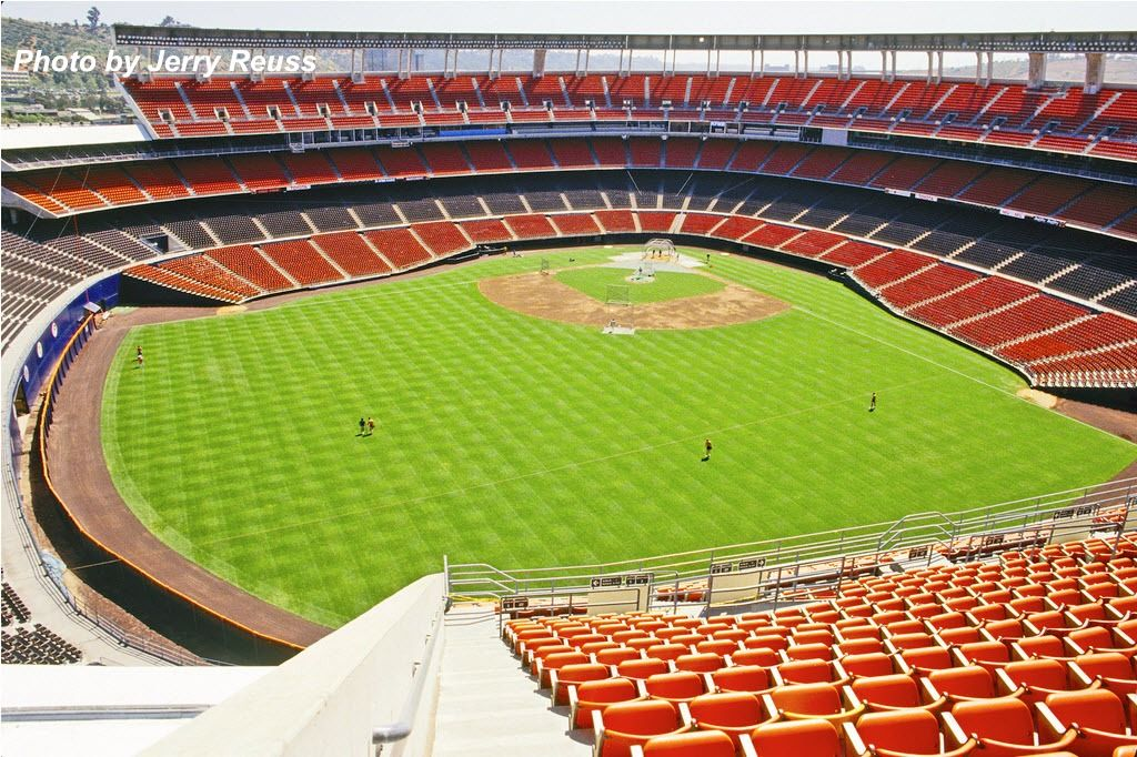 This is how I want to remember Jack Murphy Stadium ... Qualcomm Stadium Baseball