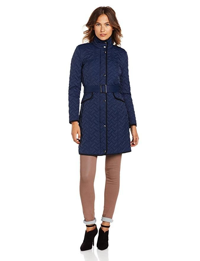 dc520344b Cole Haan Belted Signature Quilted Belted Jacket Coat. Free shipping ...
