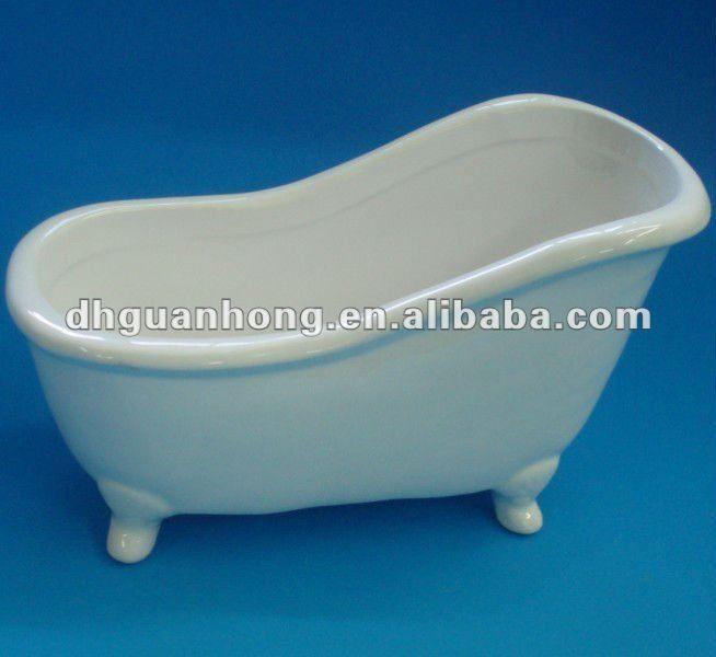 April New Arrival Ceramic Mini Bathtub Soap Dish - Buy Ceramic Mini ...