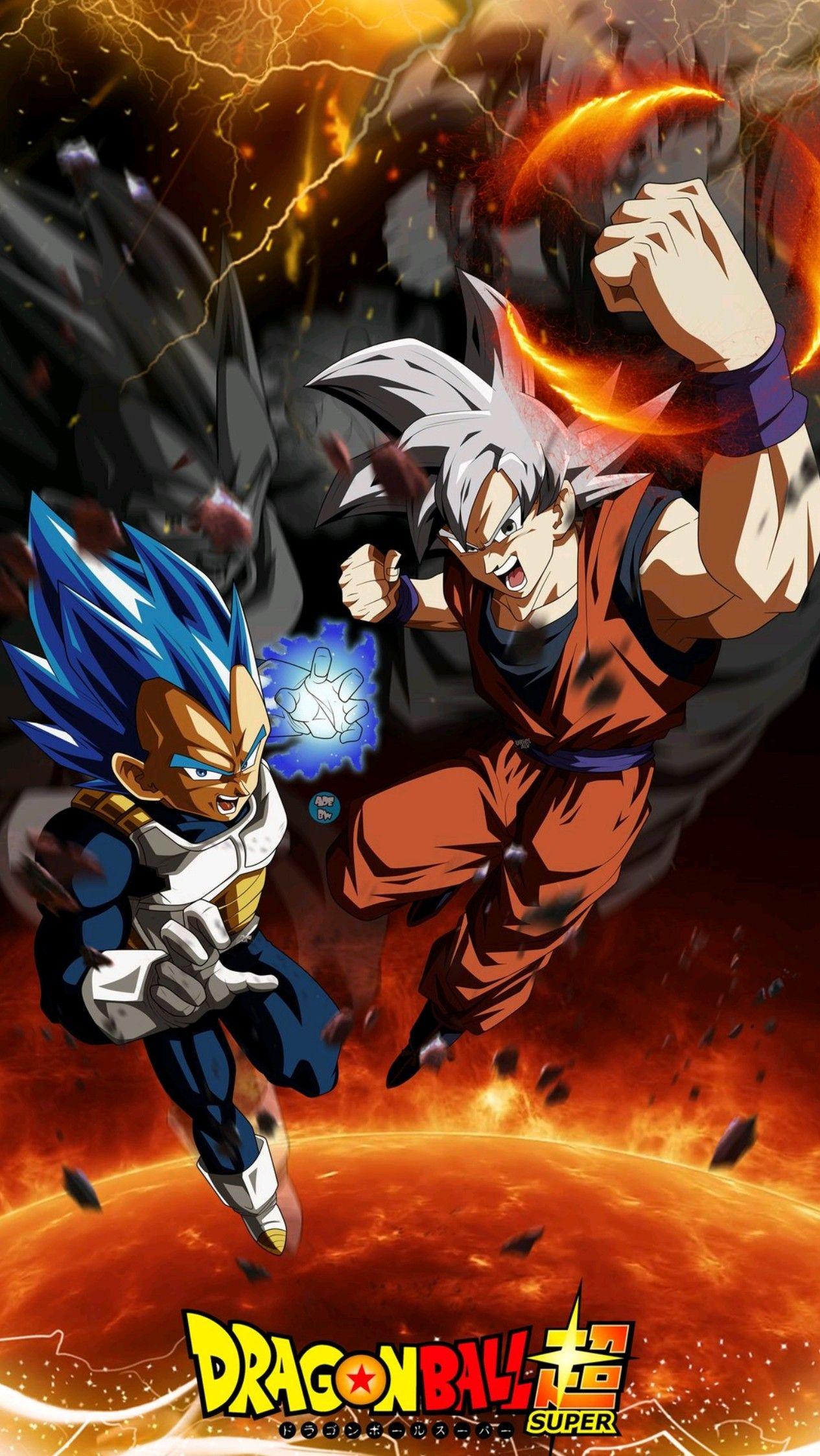 Vegeta & Goku, Dragon Ball Super | dragonball | Dragon ...
