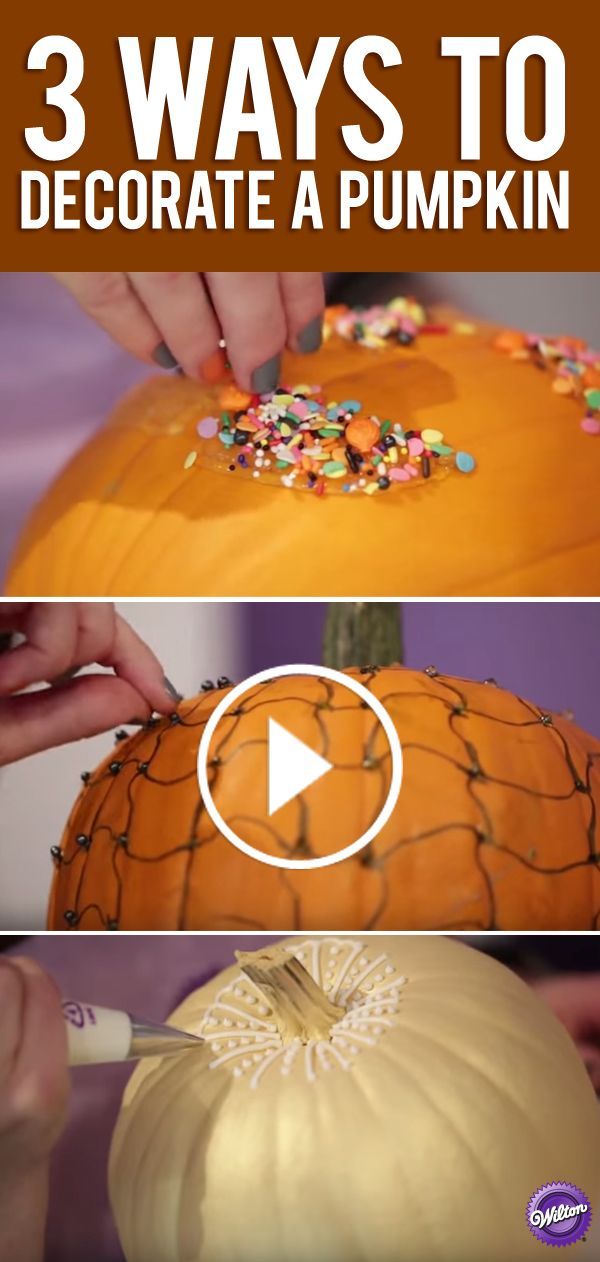 No carve pumpkin decorating ideas are taking center stage this - ways to decorate for halloween