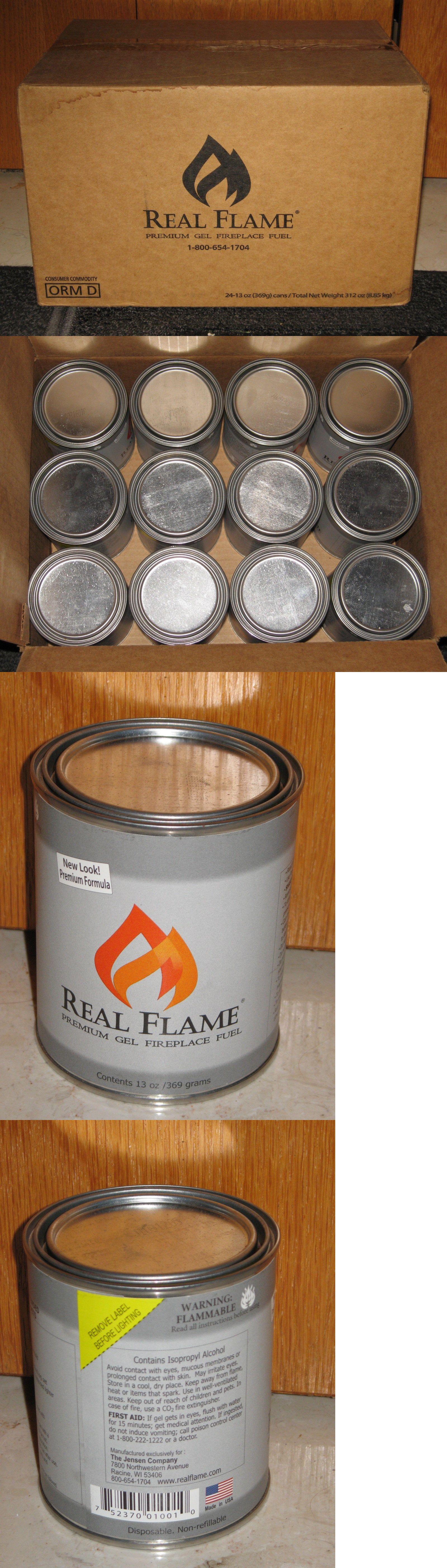 Fuel and Firewood 175755: Real Flame Gel Fireplace Fuel Clean ...