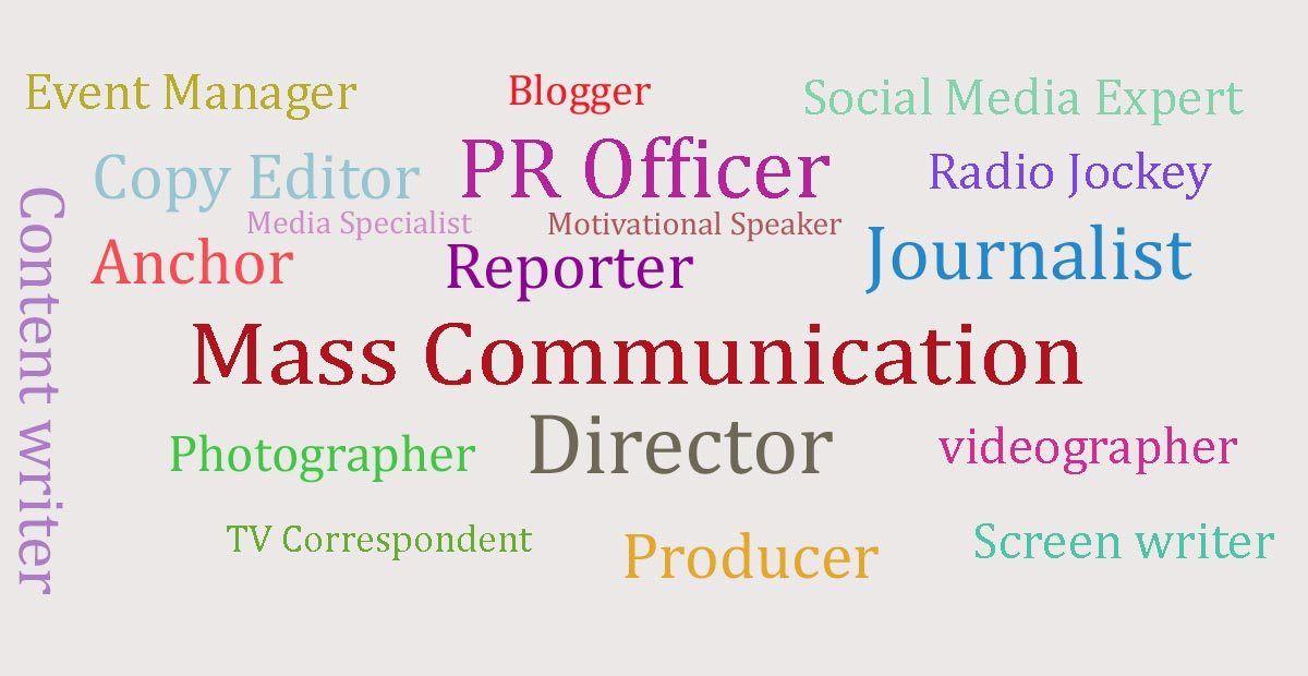 Opportunities After Mass Communication As A Job Www