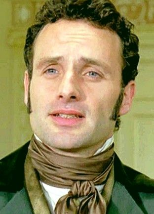 andrew lincoln as edgar linton in the bbc movie adaption of  andrew lincoln as edgar linton in the 2009 bbc movie adaption of wuthering heights