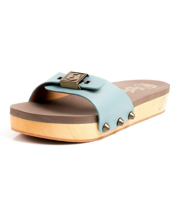 Look at this Blue Nikita Leather Slide on #zulily today!
