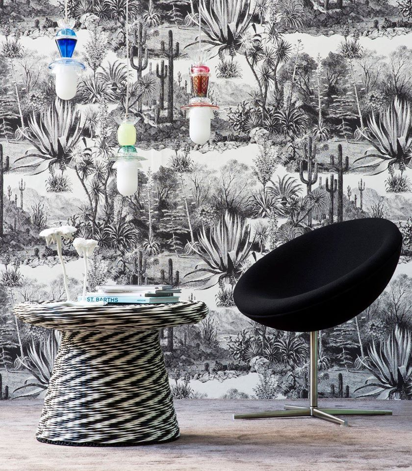 From Pierre Frey Jungle Collection Wallpaper Living Room Room