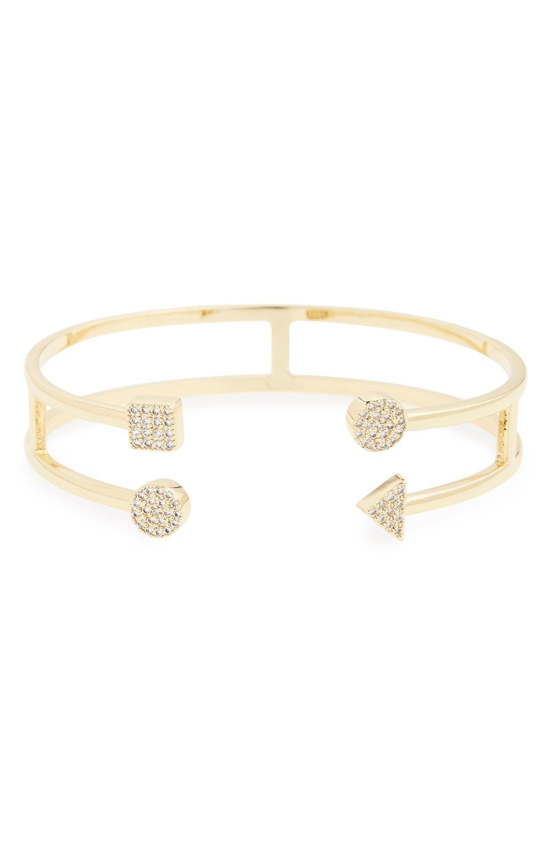 Riccova circle u square double bar cuff bracelet girls products