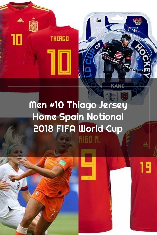 Men 10 Thiago Jersey Home Spain National 2018 Fifa World Cup Nreball In 2020 Fifa World Cup World Cup Fifa