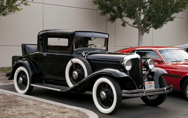 1931 Chrysler 6 Coupe | Classic cars vintage, Antique cars, Chrysler