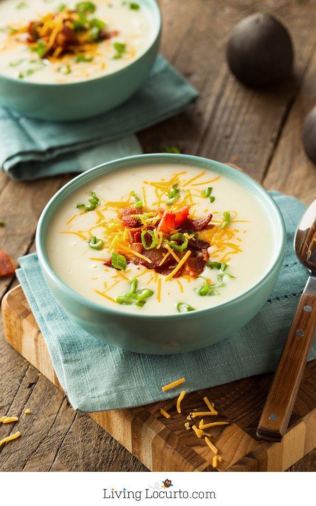 Easy Instant Pot Potato Soup Recipe Instant Pot Potato Soup Recipe Instant Pot Recipes Recipes