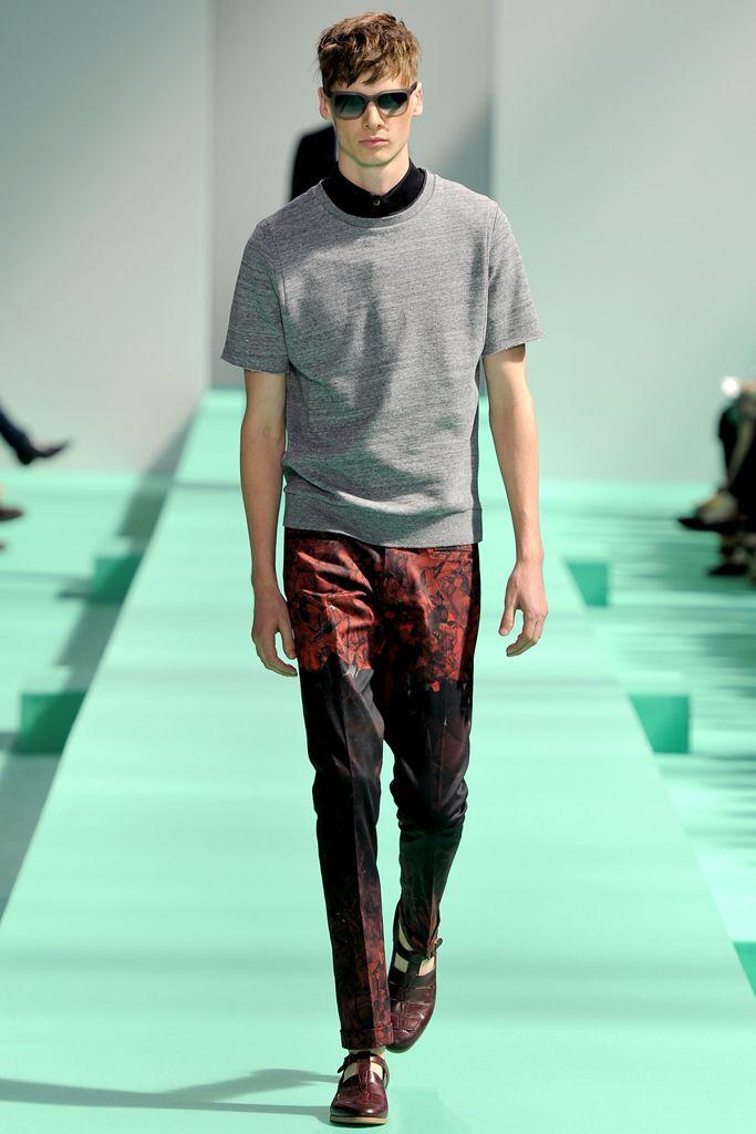 Paul Smith Spring 2013 Menswear Style.com