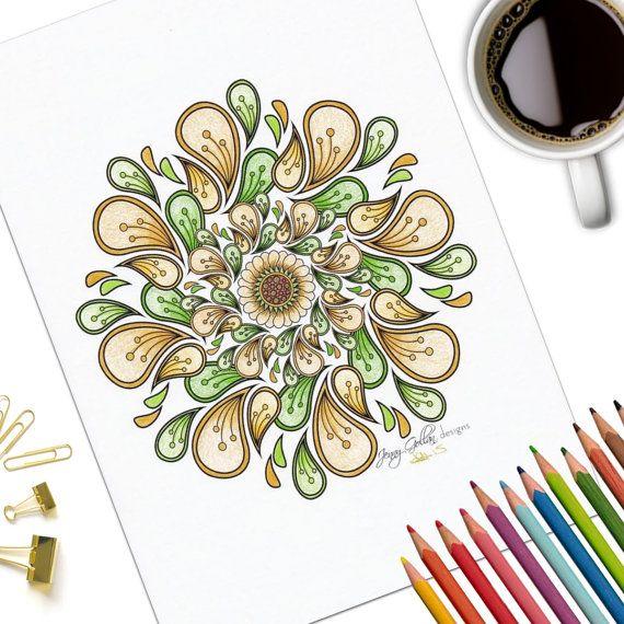 Printable Adult Colouring Page Festival   arte terapia   Pinterest ...