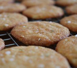 Crackers de Queso - receta sin gluten - Schär
