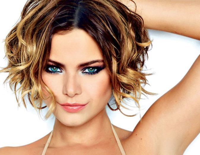 46++ Short bob hairstyles for fine curly hair info