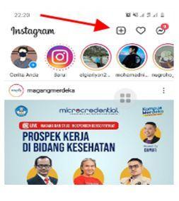 menghapus draft di instagram