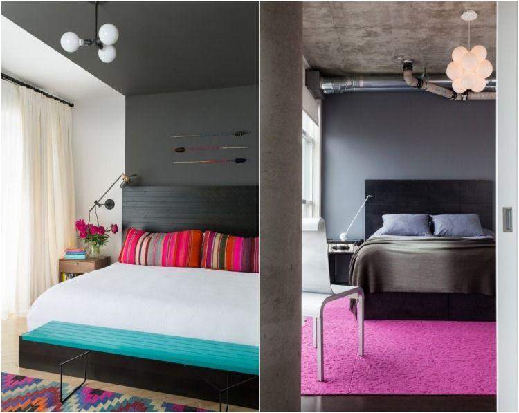 Schlafzimmer Türkis ~ Wohnideen farbideen schlafzimmer akzente dekoration türkis